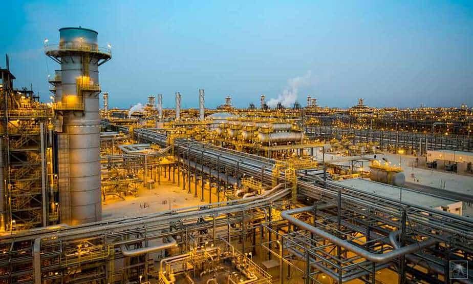 Planta de gas en Tanajib