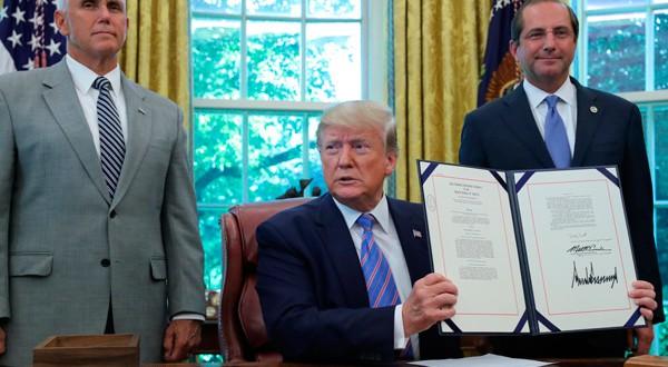 Donald Trump sigue avanzando contra la migración ilegal.