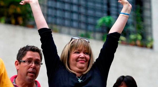 La jueza Afiuni es una de las más célebres prisioneras políticas en Venezuela.
