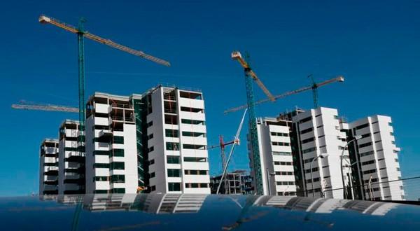 El sector inmobiliario sigue creciendo en España.