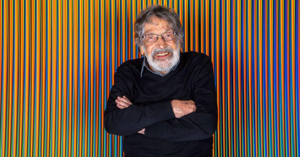 Los venezolanos lamentan el fallecimiento de su genial artista universal Carlos Cruz Diez.