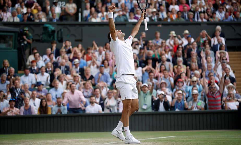 Roger Federer jugará su 12° final en Wimbledon