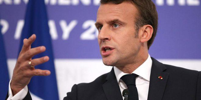 Macron anunció acuerdo entre 14 naciones europeas para acoger a migrantes