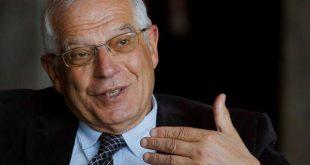 El canciller Borrell reiteró a los secesionistas catalanes que no hay posibilidad constitucional alguna de celebrar un referéndum.