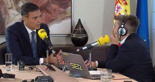 """El presidente y candidato del PSOE Pedro Sánchez declaró que Podemos decidió usar """"la consulta trucada para justificar una votación contraria"""" a su investidura."""