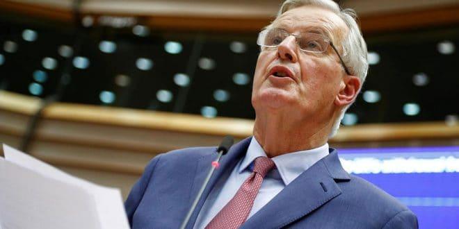 En respuesta al primer ministro británico Boris Johnson, el negociador francés de Europa para el brexit Michel Barnier recomienda a las naciones europeas mantener calma, solidaridad y unidad.