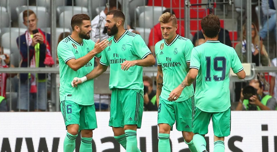 pretemporada del real madrid
