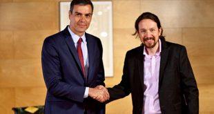 La infructuosa reunión entre Pedro Sánchez y Pablo Iglesias la mañana de este martes en la sede del Congreso de los Diputados augura un alejamiento de las posiciones entre los líderes del PSOE y de Unidas Podemos en el próximo pleno de investidura.