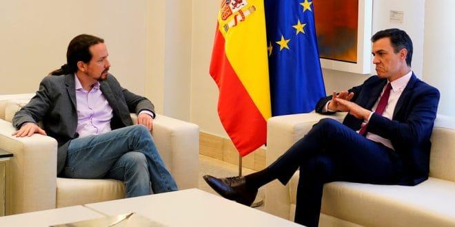 Sánchez busca un acuerdo con Unidas Podemos que no incluya a Iglesias