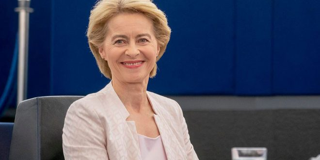 Parlamento Europeo eligió a la alemana von der Leyen como presidenta de la Comisión