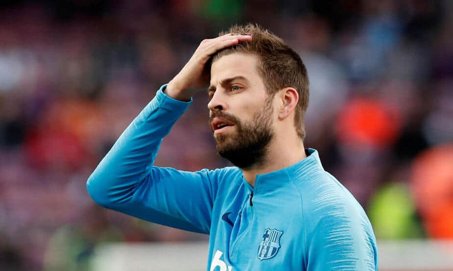 Gerard Piqué, defensor central del Barcelona/ @3gerardpique