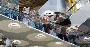 Aena incrementó el tráfico de pasajeros en 3,4% durante el mes de julio