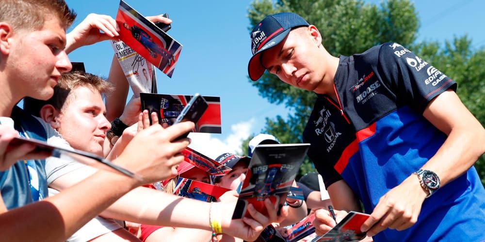 Red Bull espera que Alex Albon pueda seguir el ritmo de Max Verstappen.