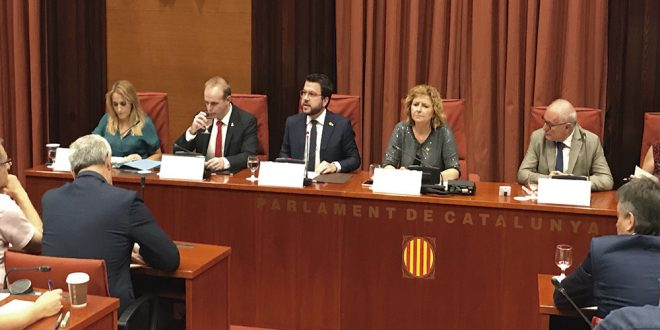 La Generalitat demandará al gobierno central por impagos en la financiación de comunidades autónomas