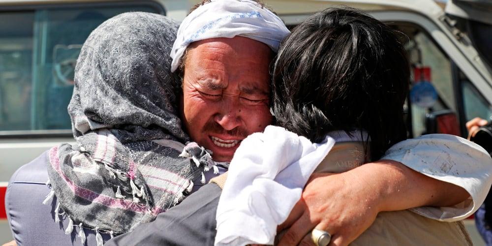 El ataque terrorista ha causado mucho dolor e indignación en Afganistán.