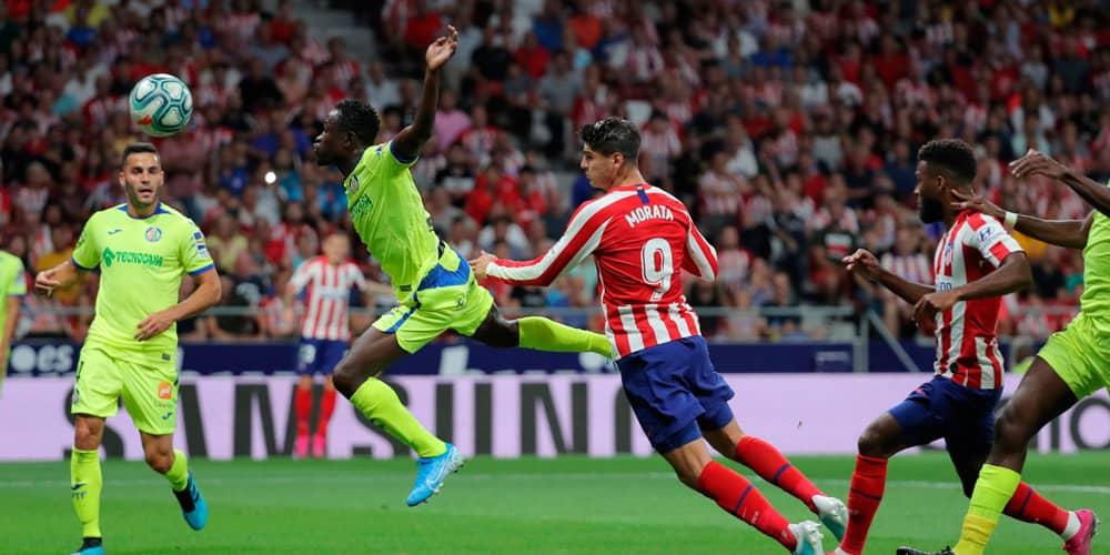 Morata marcó el gol para el 'colchonero'.