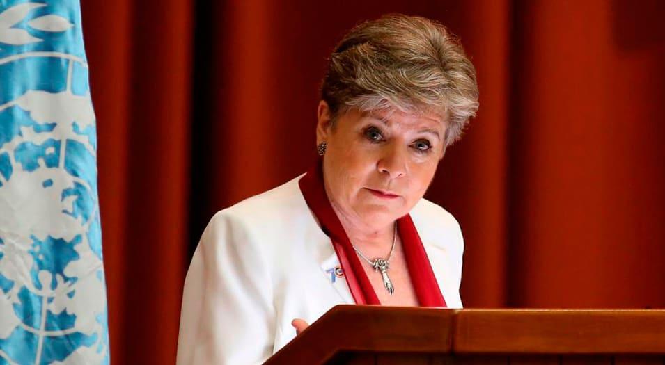 Alicia Bárcena, secretaria ejecutiva de la Cepal, se mostró preocupada por el retroceso de la región.