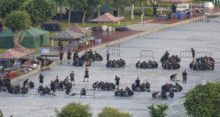 China realizó maniobras militares en la frontera con Hong Kong