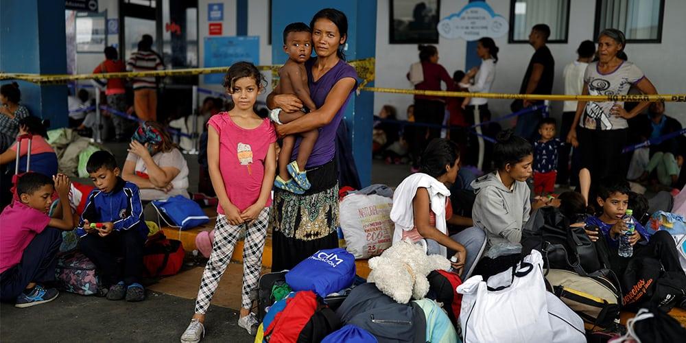 La crisis humanitaria en Venezuela ha propiciado el éxodo de unas cuatro millones de personas