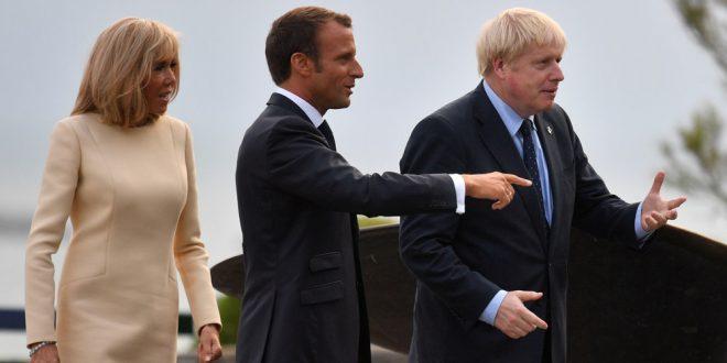 Inicia Cumbre del G7: Macron busca distender la tensión y Johnson advierte olvidarse de la salvaguarda irlandesa