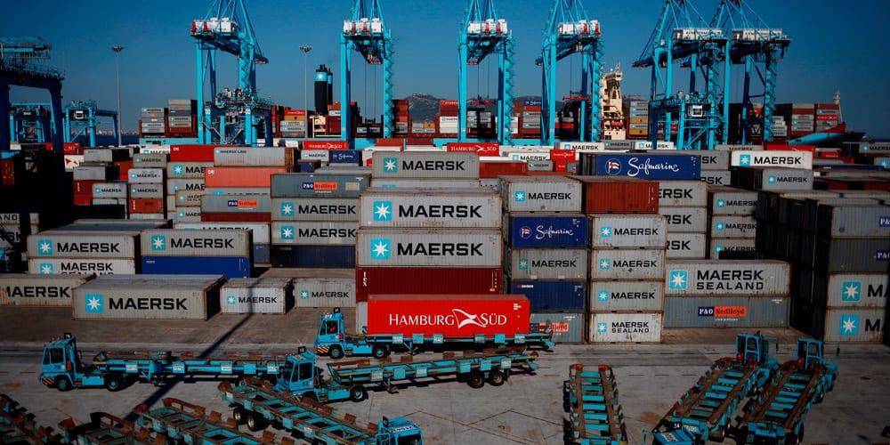 Exportaciones españolas aumentaron este último semestre.