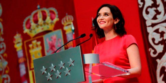 Isabel Díaz Ayuso tomó posesión como presidenta de la Comunidad de Madrid