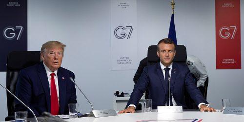 Donald Trump Cumbre G7