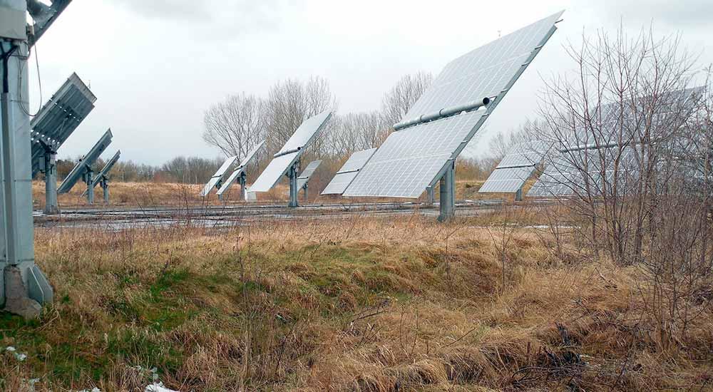 Eficiencia de los paneles solares