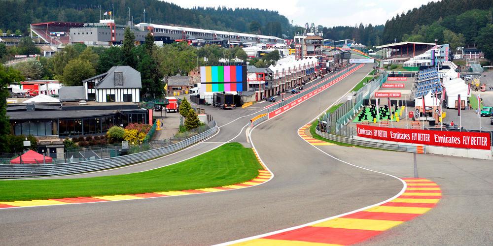 La pista de Spa-Francorchamps promete muchas emociones.