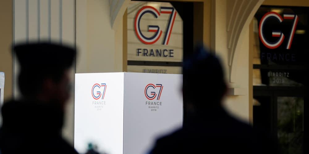 Ha habido un gran despliegue de seguridad en la ciudad de Biarritz de cara al G7.