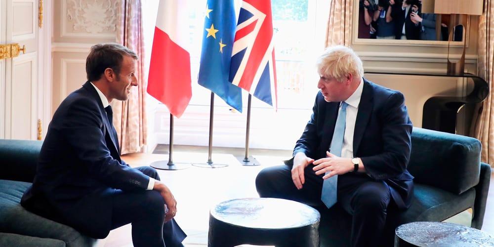 Los líderes sostuvieron una reunión en el Palacio del Elíseo, París.
