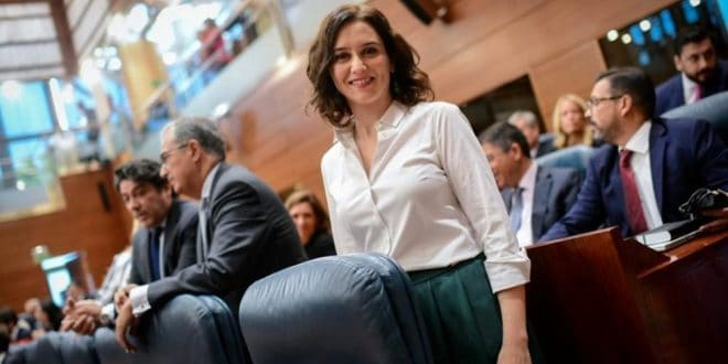 Díaz Ayuso quiere convertir a Madrid en ejemplo para España