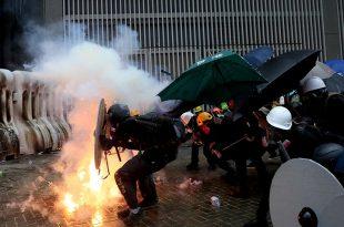Manifestaciones masivas en Hong Kong