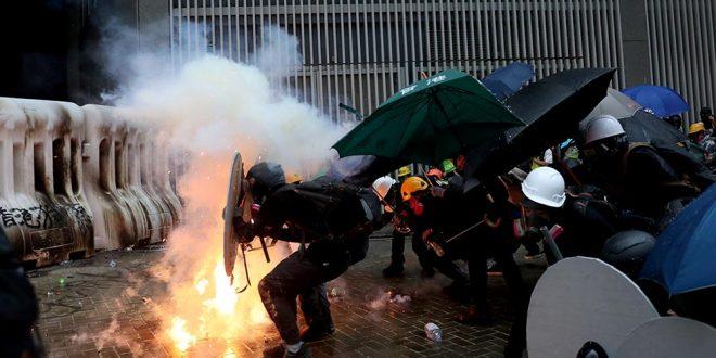 Muere hombre de 70 años por la violencia de protestas en Hong Kong