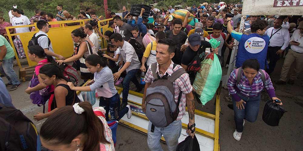 Flujo migratorio de venezolanos es considerado una tragedia humanitaria que agrava problemas en la región
