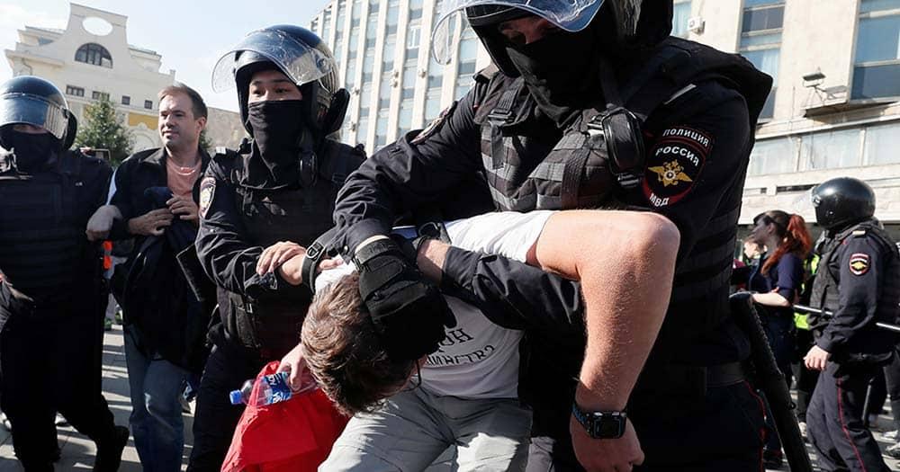 Nueva represión masiva en Moscú