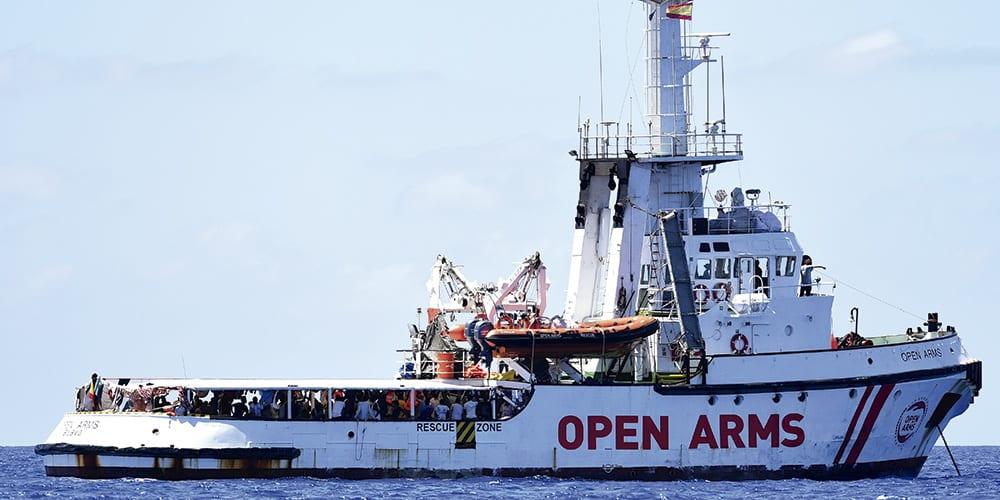 Cae la entrada irregular de inmigrantes en España en medio de la crisis del Open Arms