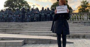Miles de personas exigieron a Putin elecciones libres en una protesta en Moscú, en la que hubo represión y detenidos