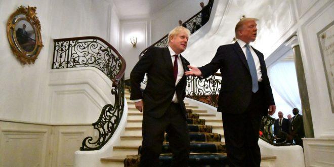 Trump promete acuerdo comercial a Johnson luego del Brexit