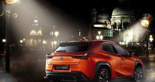 El revolucionario Lexus UX 250h, es el primer crossover compacto híbrido autorrecargable