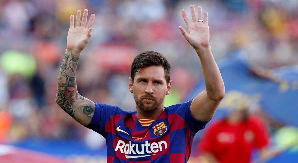 Messi se lesionó