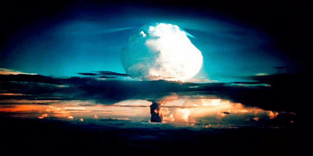 'Mike' fue la primera bomba de hidrógeno en ser probada.