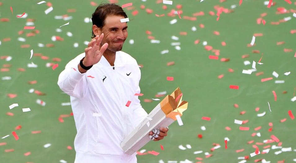 Rafael Nadal ya suma cinco títulos en Canadá