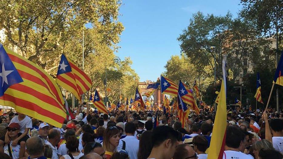 Aniversario del 1 de octubre en Cataluña