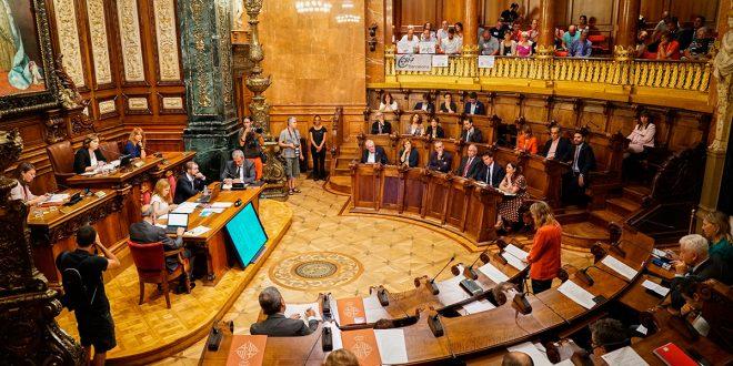 Ayuntamiento de Barcelona llamará a protestar en las calles si la sentencia del procés es condenatoria