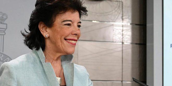 Celaá: PSOE apunta a una mayoría más contundente en nuevas elecciones