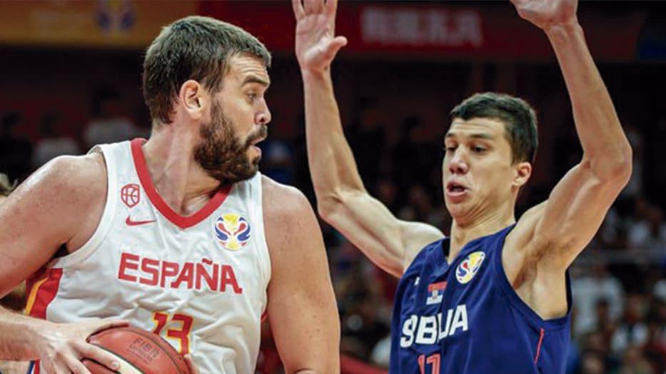Selección española de baloncesto ganó a Serbia en los octavos de final del  Mundial de China/ BasketballWorldCup