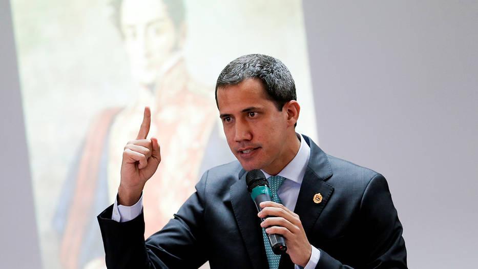 Juan Guaidó, presidente encargado de Venezuela