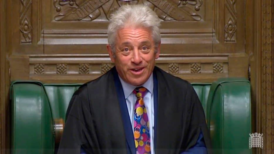 El 'speaker' tiene una posición tajante respecto a Boris Johnson.