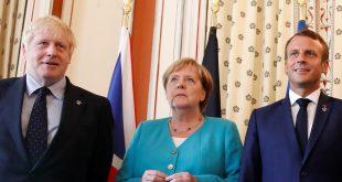 Johnson, Merkel y Macron suscribieron el comunicado dirigido a Irán al margen de la conferencia de la ONU que se celebra en su sede en Nueva York.
